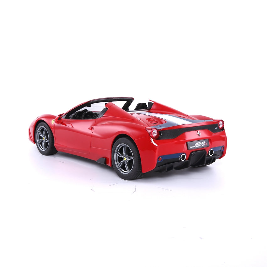 (PACK OF 6) RC74500 Genuine Licensed 1: 14 Ferrari 458 Speciale A Licensed Convertible Radio Remote Control Car Red