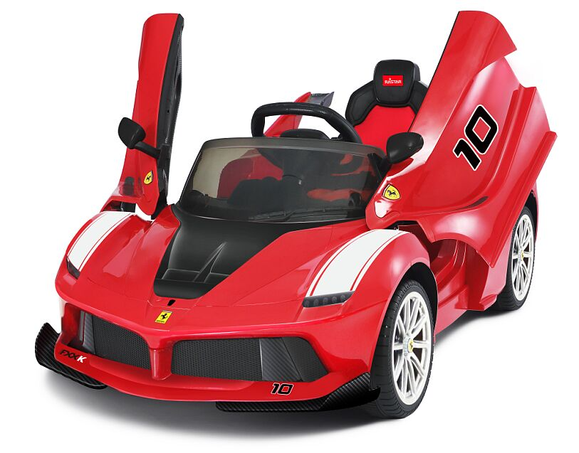 NEW 2018 Genuine Official Licensed La Ferrari  FXXK 12V Electric Ride On Car with Remote Control (RS82700 FXXK RED)