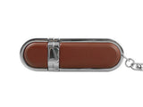 16GB 06-007  Leather USB 2.0 Flash Memory Drive Disk thumb Stick Shockproof