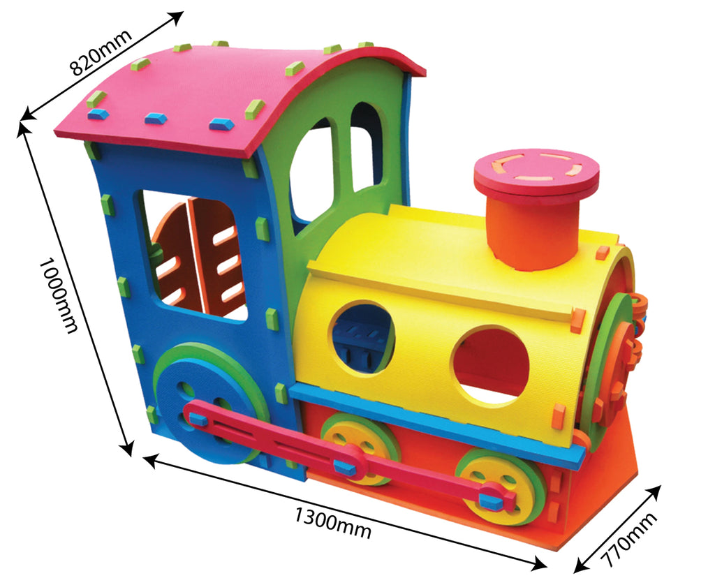 RICCO® Giant Train EVA Playhouse - STA2012