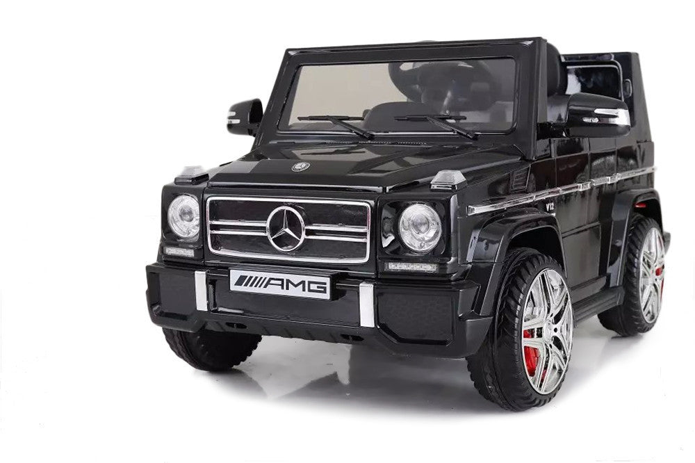 12V 7Ah Battery Powered Mercedes-Benz G65 Licensed Twin Motor Electric Ride On Toy Car  (Model: LS528 ) BLACK