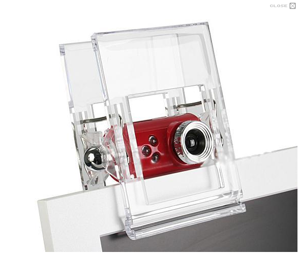 3.2 MegaPixels DRIVERLESS Crystal Clip USB Webcam Laptop PC Mac Desktop