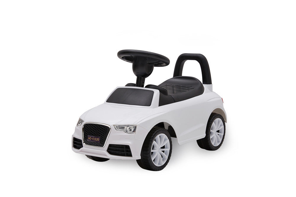 Audi Style Manual Ride On (Model: HD320) WHITE