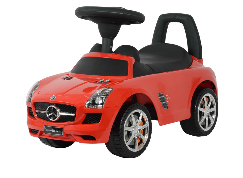 (PACK OF 4) Mercedes Benz Licensed Manual Ride On (Model:332) RED