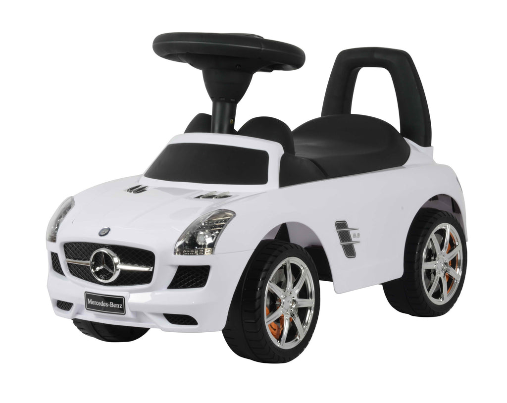 Mercedes Benz Licensed Foot to Floor Push Along Ride On (Model:332) WHITE