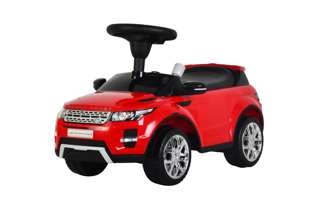 Range Rover Evoque Licensed Foot to Floor Push Along Ride On (Model:348) RED