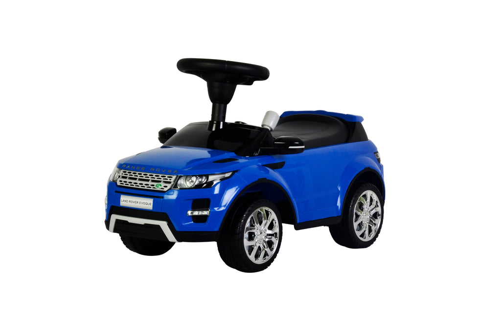 (PACK OF 4) Range Rover Evoque Licensed Manual Ride On (Model:348) BLUE