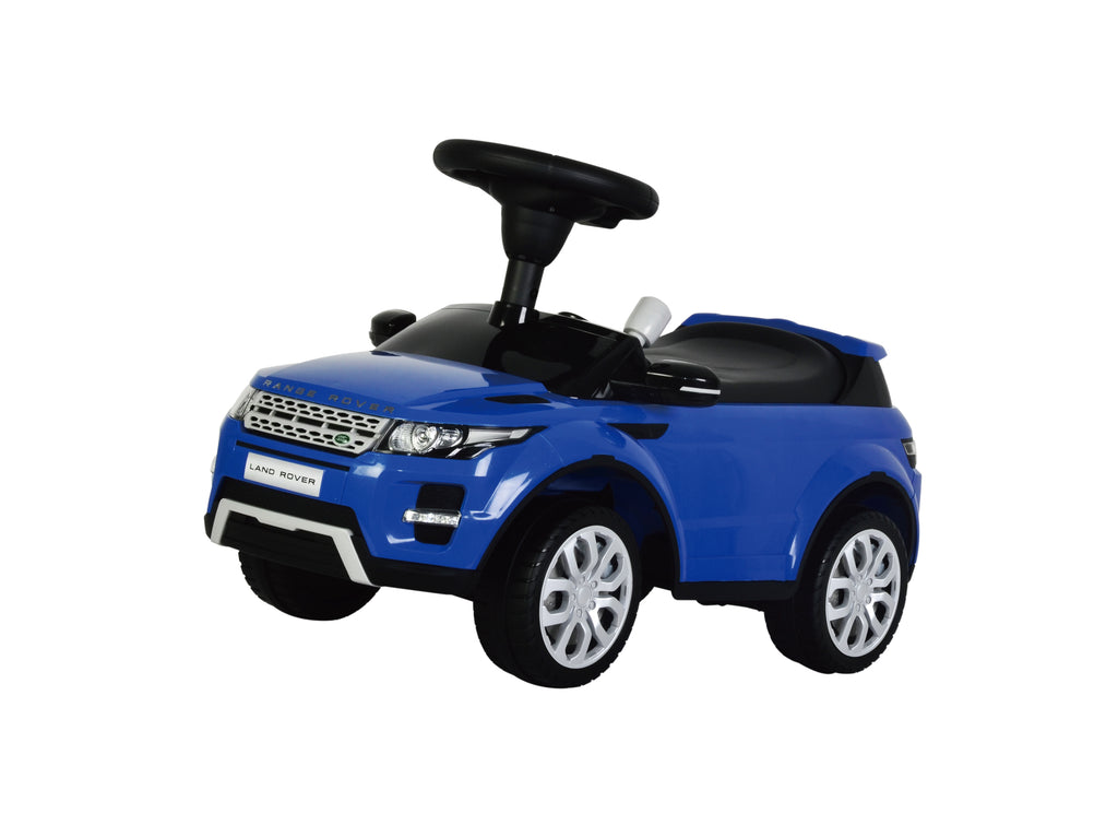 Range Rover Evoque Licensed Foot to Floor Push Along Ride On (Model:348) BLUE