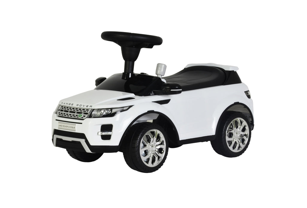 Range Rover Evoque Licensed Foot to Floor Push Along Ride On (Model:348) WHITE
