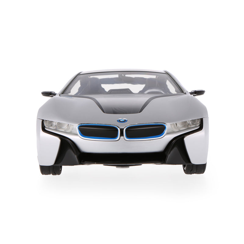 (PACK OF 6)  RC49600-11 Genuine Licensed 1: 14 BMW I8 Concept Radio Remote Control Car Silver