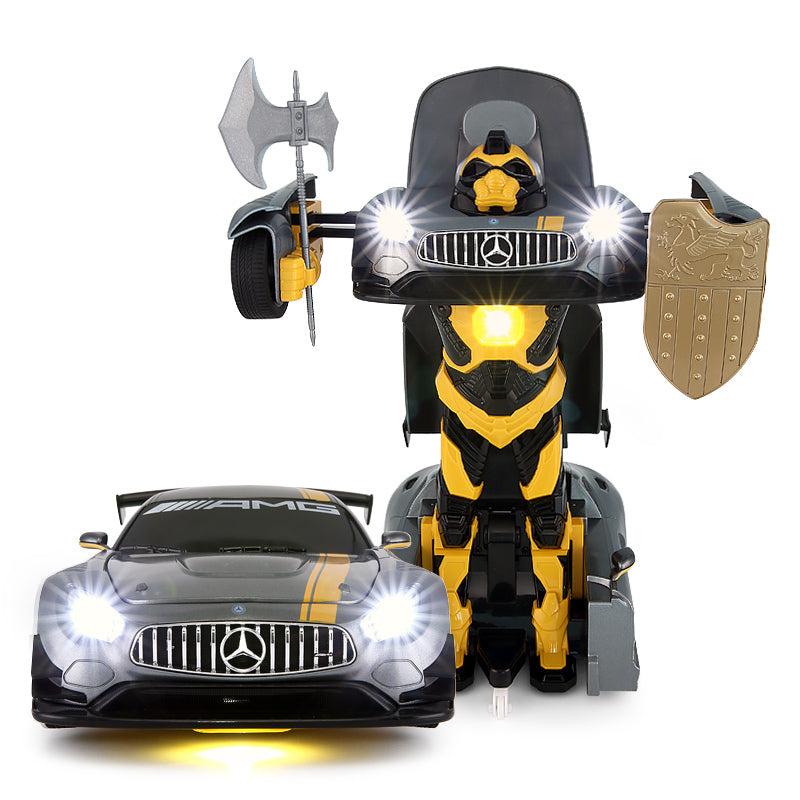 RASTAR Remote Control Genuine Licensed 1: 14 RC Mercedes AMG GT3 Transformable Radio Remote Control Car