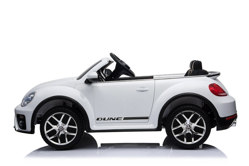 Volkswagen Licenced VW BEETLE 12V 4.5A Battery Powered Kids Electric Ride On Toy Car (MODEL S303 PINK)