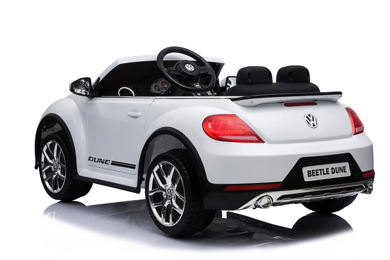 Volkswagen Licenced VW BEETLE 12V 4.5A Battery Powered Kids Electric Ride On Toy Car (MODEL S303 RED)