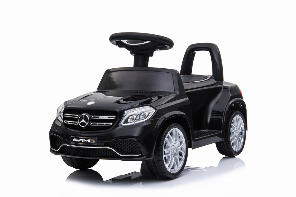RICCO HL600 BLACK Mercedes Benz GLS63 Licensed Kids Electric Foot to Floor Ride on Car