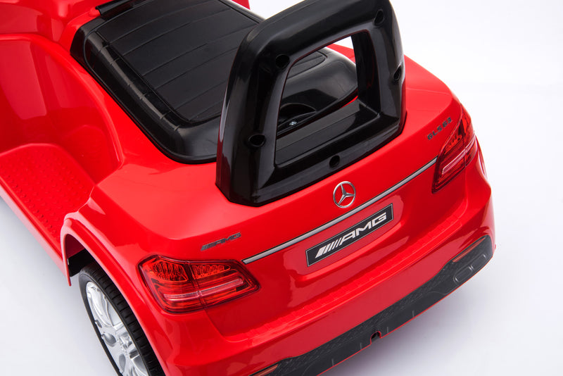 RICCO HL600 RED Mercedes Benz GLS63 Licensed Kids Electric Foot to Floor Ride on Car