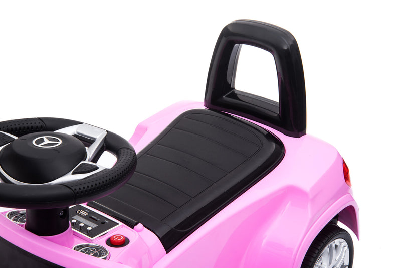 RICCO HL600 PINK Mercedes Benz GLS63 Licensed Kids Electric Foot to Floor Ride on Car