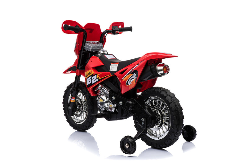 6V 4.5A 35W Battery Powered Kids Electric Ride On Dirt Motor Bike (Model: BDM0912) Green