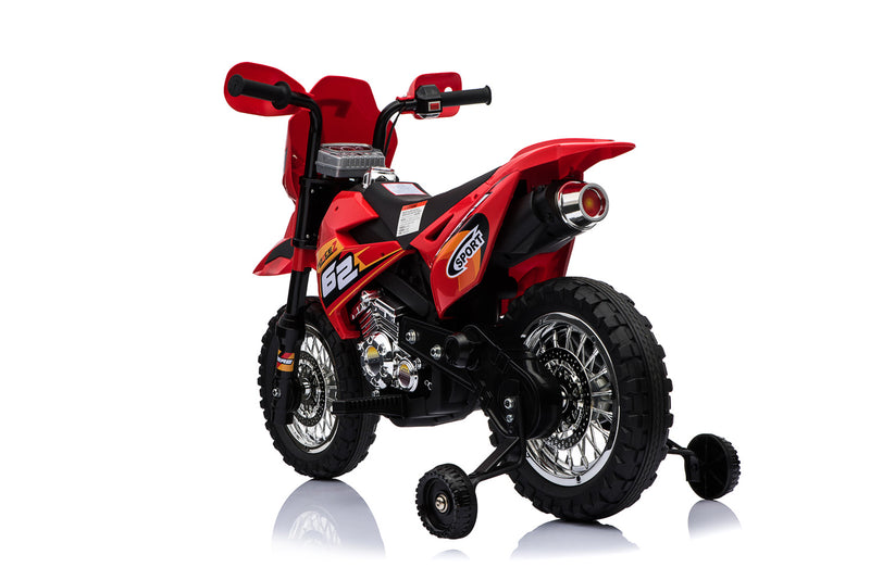 6V 4.5A 35W Battery Powered Kids Electric Ride On Toy Dirt Motor Bike (Model: BDM0912) Red
