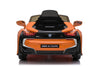 RICCO® BMW i8 Licensed 12V  4.5A Two Motors Battery Powered Electric Ride On Toy Car (Model: JE1001) (Orange)