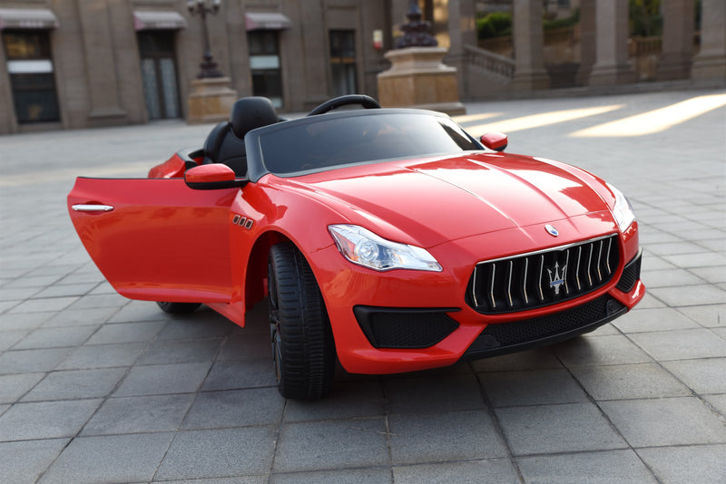Maserati Quattroporte Licenced 12V 7A Battery Powered Kids Electric Ride On Toy Car ZLG8588 RED
