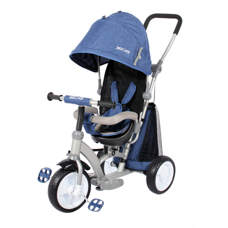 Kids Easy Steer Tricycle Buggy Stroller with Oxford Cloth Pedal and Reversible Seat (Model XG6019)