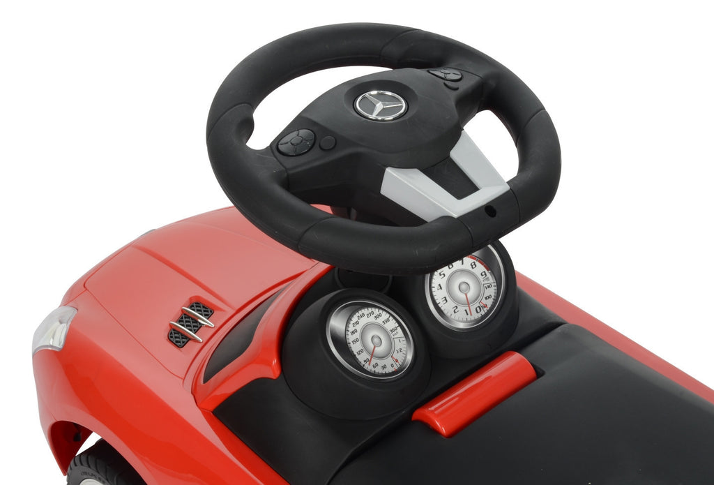 Mercedes Benz Licensed Manual Ride On (Model:332) RED