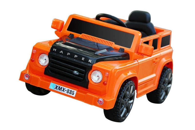 6V 50W Battery Powered Land Rover Style Twin Motor Electric Ride On Toy Car (Model: XMX885 ) CAMOUFLAGE