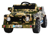 6V 50W Battery Powered Land Rover Style Twin Motor Electric Toy Car (Model: XMX885 ) ORANGE
