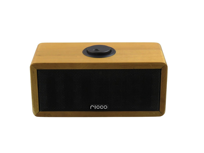 Ricco MB03 Bluetooth Speaker with Built-In Microphone and Rechargeable Battery