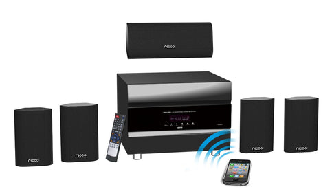TS6811 400W 5.1 Channel RMS Bluetooth Home Theater Audio System with 5 Satellite Speaker and HDMI In/Out