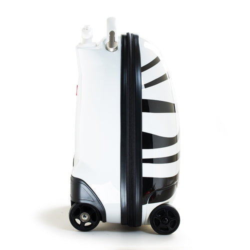 RASTAR Kids Battery Powered Remote Control Walking Suitcase Cabin Hand Luggage (ZEBRA) RST1602