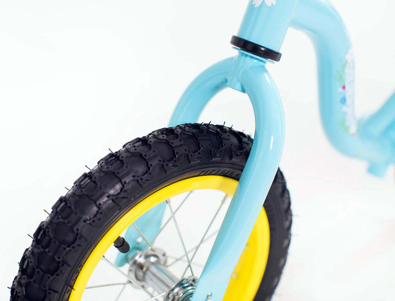 RICCO® Balance Bike with Air Wheels Light Blue (Model: WB14)