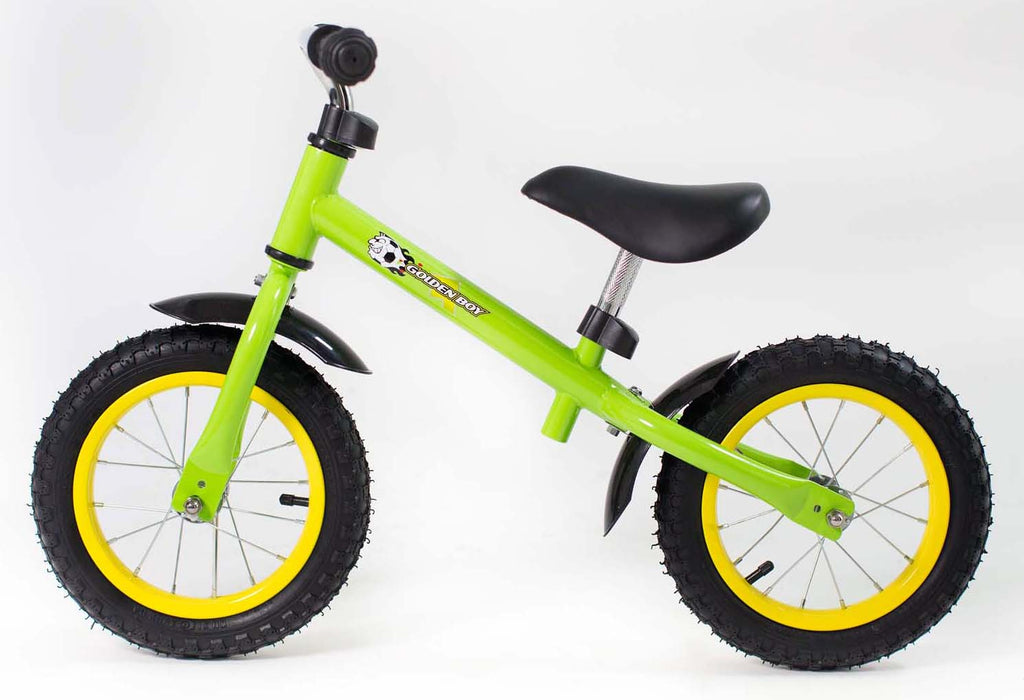 RICCO® Balance Bike with Air Wheels Lime Green (Model: WB07)