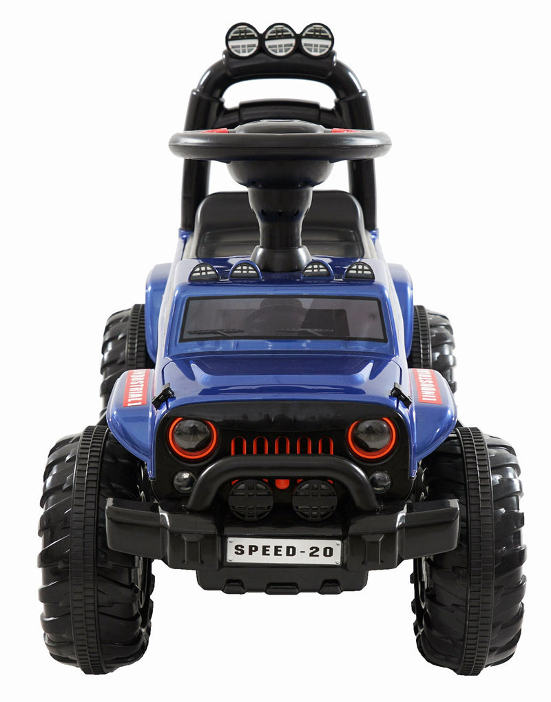 Kids 4x4 Mini Jeep Electric Ride On Foot to Floor Car Vehicle (Model: PB810) BLUE