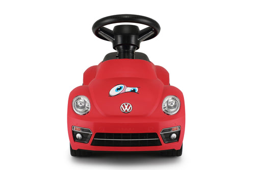Volkswagen Beetle Kids Foot to Floor Push Along Ride On Sliding Toy Car (Model: RS85700) (Red)