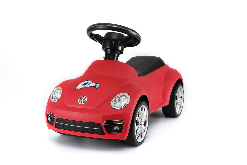 Volkswagen Beetle Kids Foot to Floor Push Along Ride On Sliding Toy Car