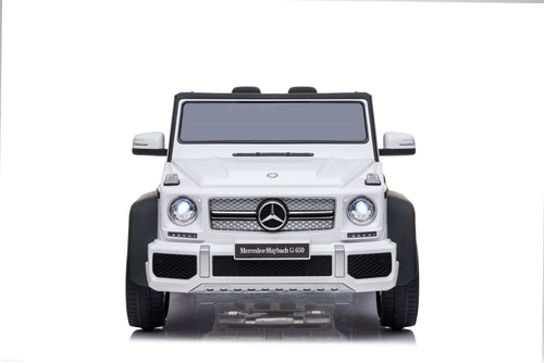 RICCO® 12V 7A Mercedes Maybach G650 Licensed Kids Electric Ride on Car (Model: YSA100) (White)