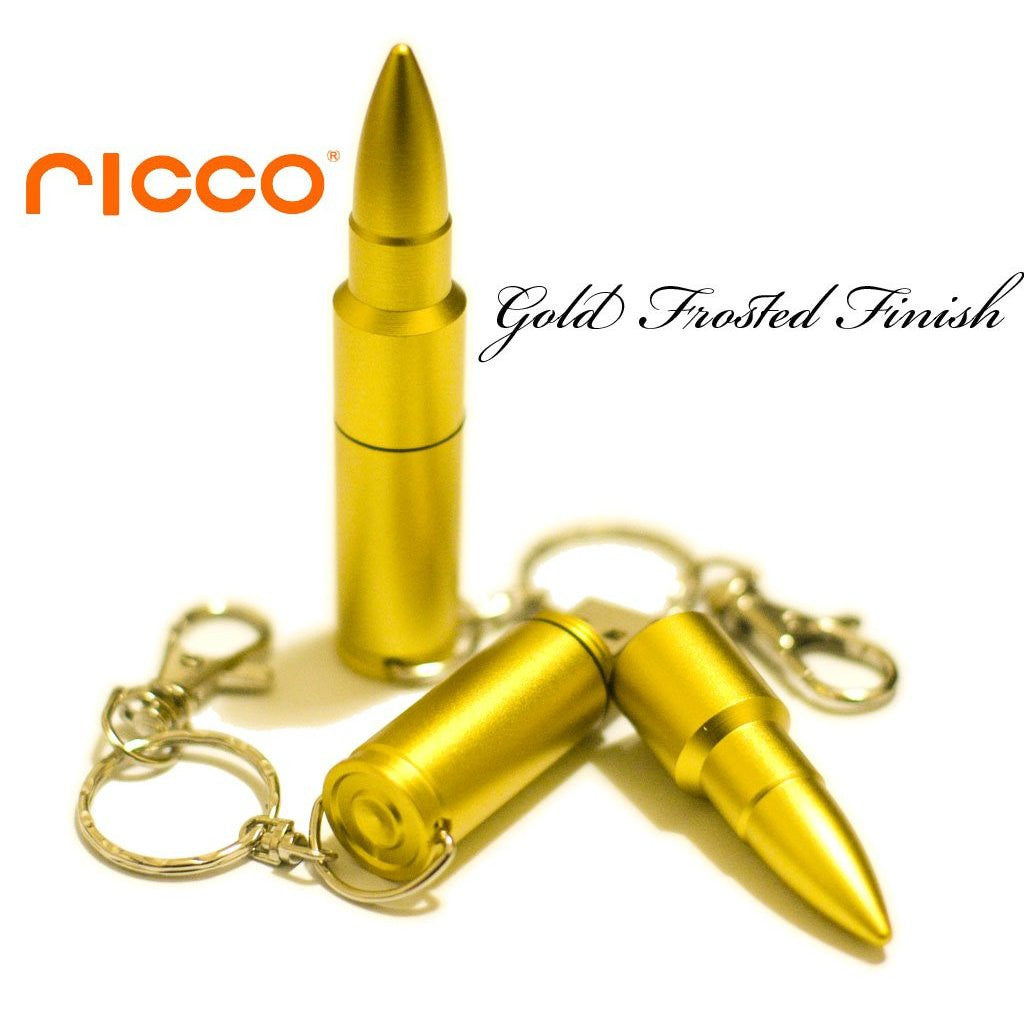 8GB 01-017 Aluminum BULLET USB 2.0 Flash Drive