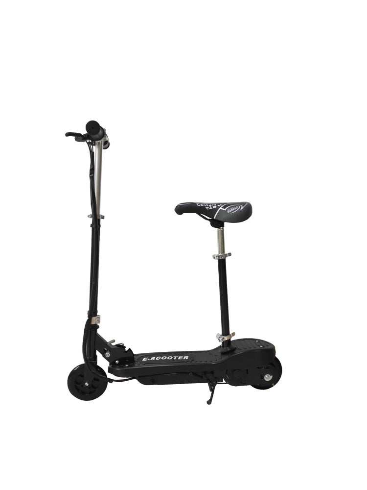 RICCO Kids 24V Electric Scooter e-Scooter Ride On WITH DETACHABLE SEAT (Model:CD02S) BLACK