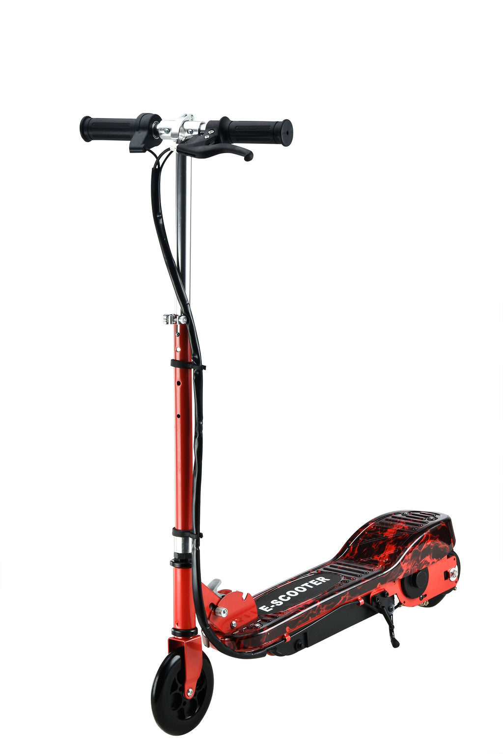 RICCO Kids 24V Electric Scooter e-Scooter Ride On WITH DETACHABLE SEAT (Model:CD02S) RED WATER TRANSFER PRINTED