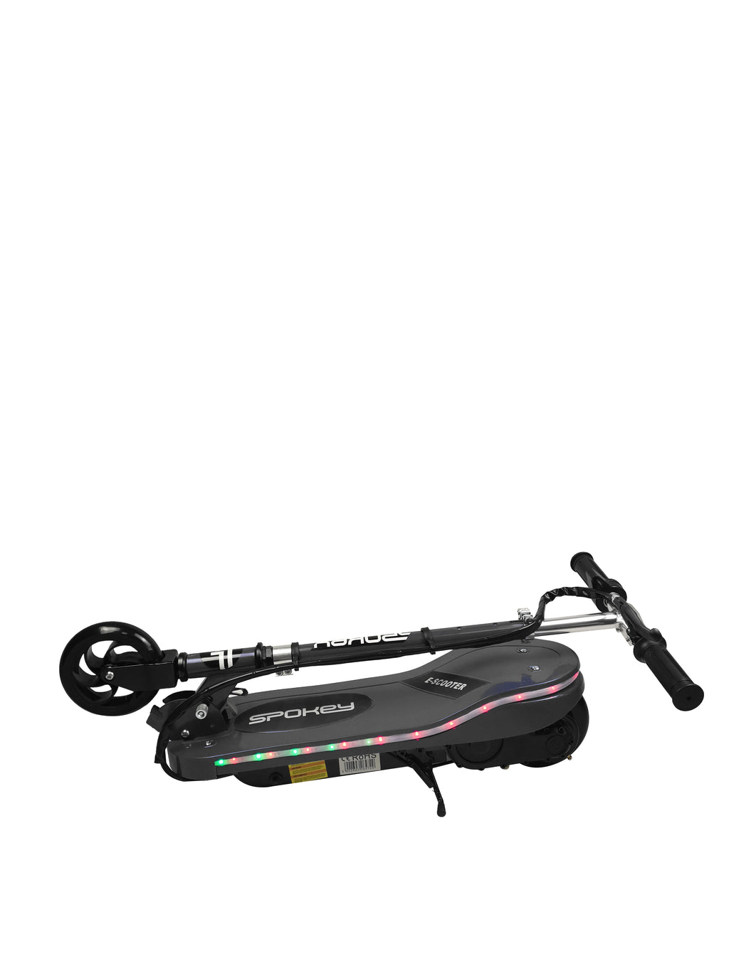 RICCO Kids 24V Electric Scooter e-Scooter Ride On with LED Flashing Lights (Model:CD05) BLACK