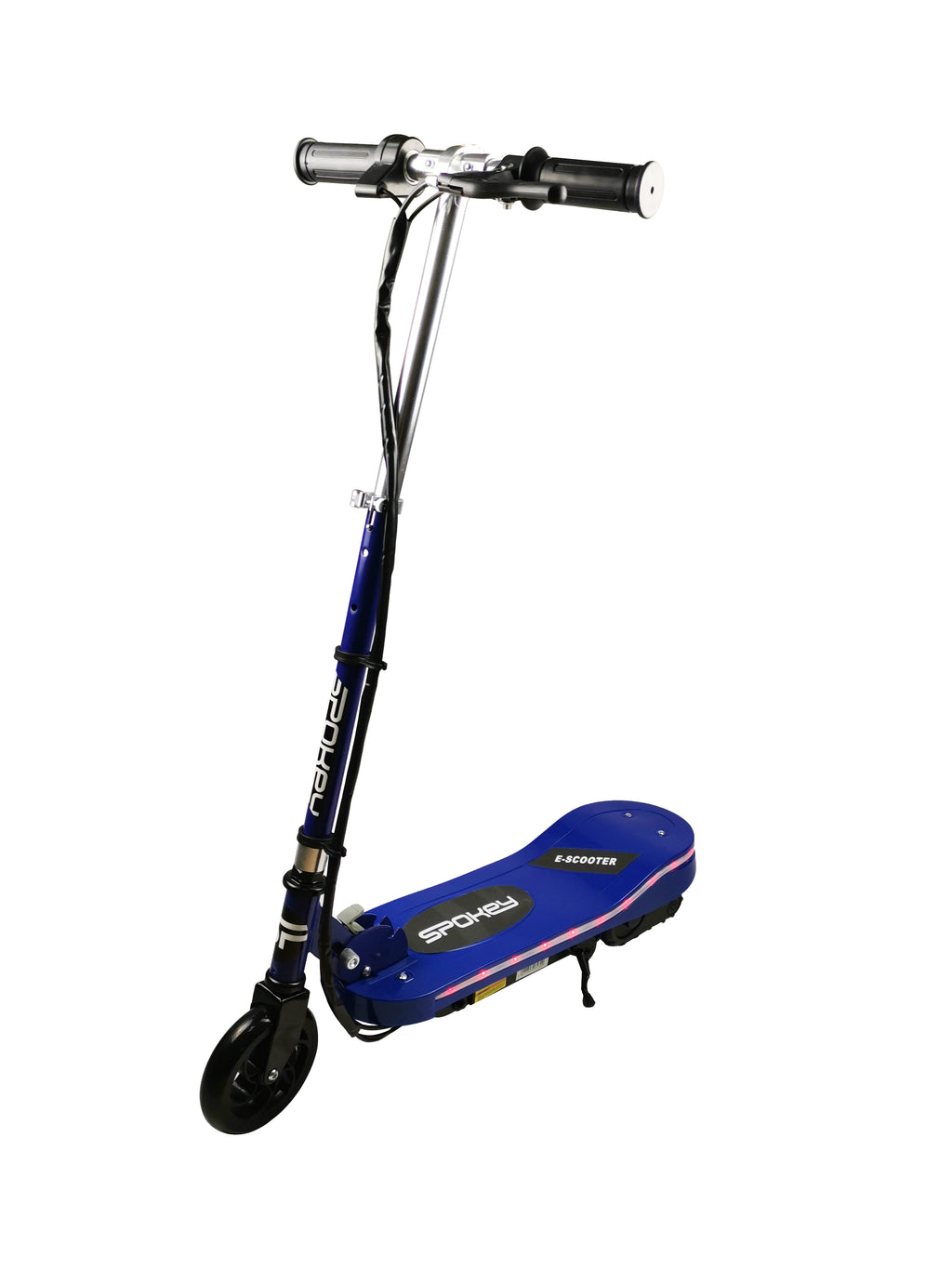 RICCO Kids 24V Electric Scooter e-Scooter Ride On with LED Flashing Lights (Model:CD05) BLUE