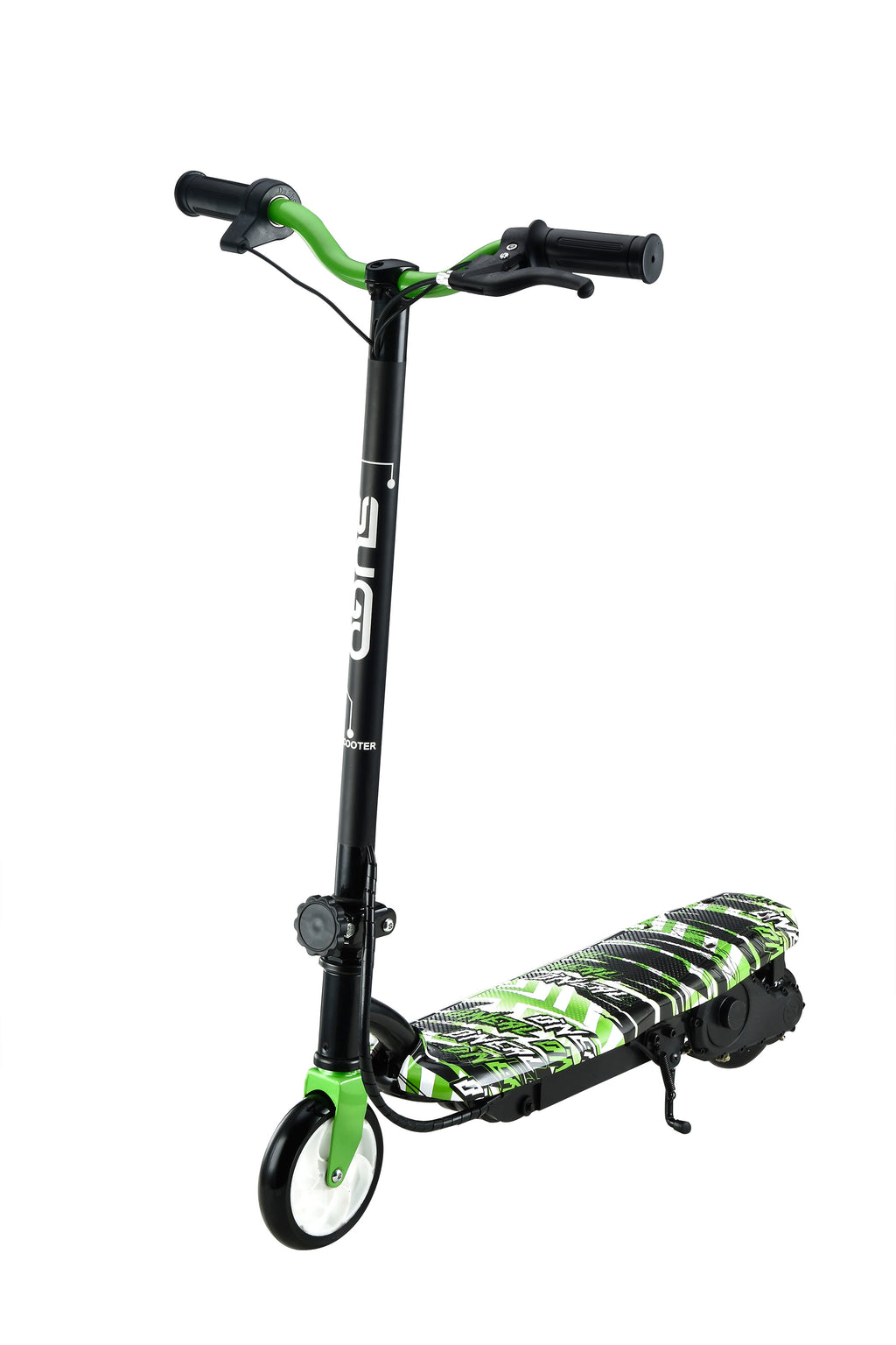 RICCO Kids 24V Electric Scooter e-Scooter Ride On (Model:CD11) GREEN WATER TRANSFER PRINTED