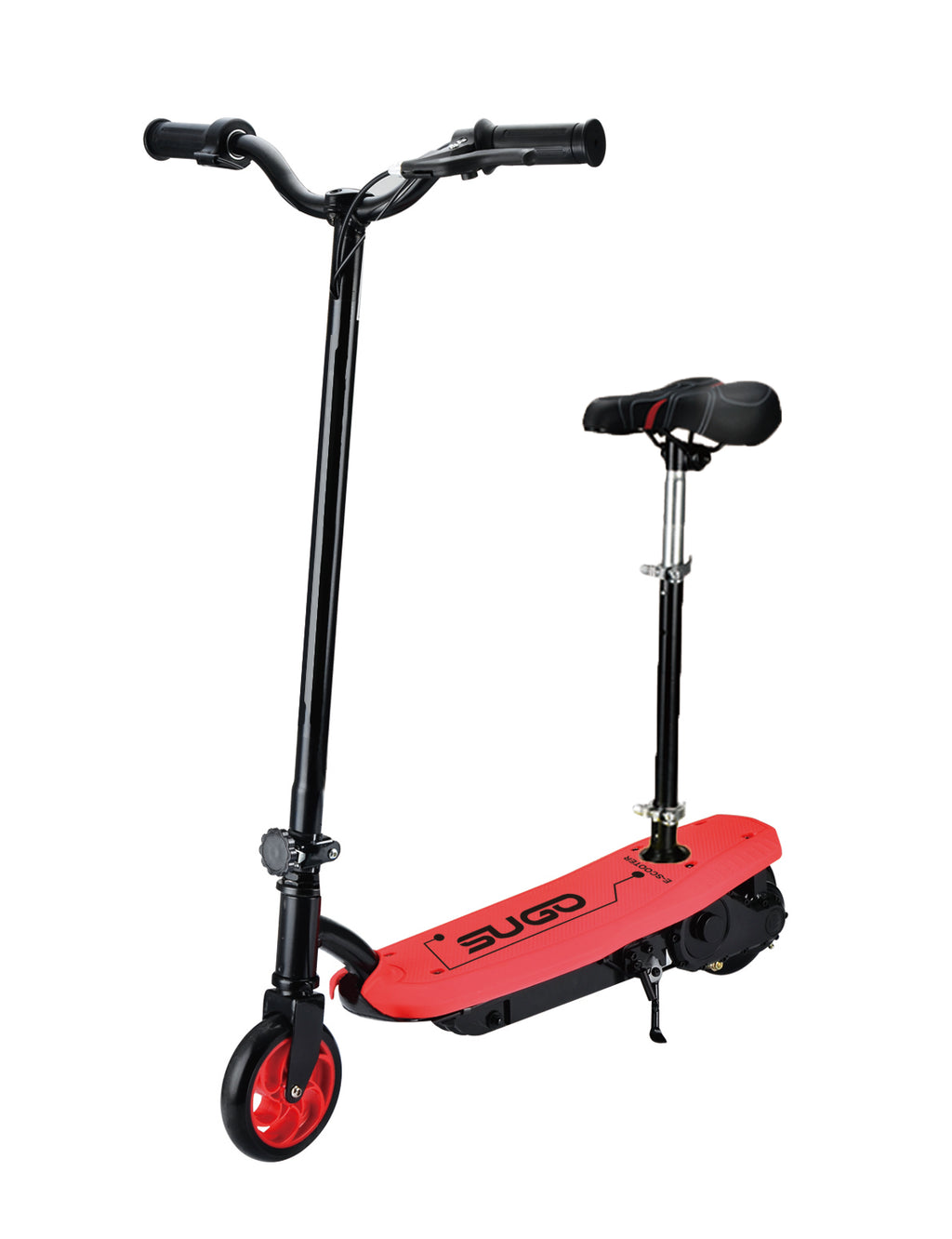 RICCO Kids 24V Electric Scooter e-Scooter Ride On WITH DETACHABLE SEAT (Model:CD11S) RED