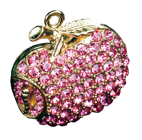 8GB PINK APPLE Jewellery Swarovski Elements USB 2.0 Flash Drive Memory Stick