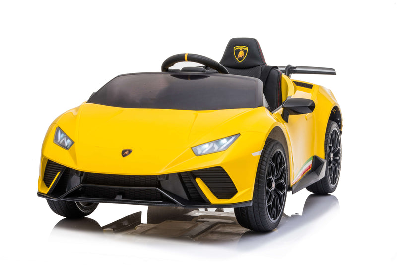 12V Lamborghini Huracán Licensed Battery Powered Kids Electric Ride On Toy Car
