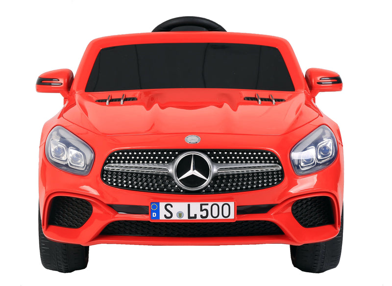 12V 7A Mercedes Benz Licenced SL500 Battery Powered Kids Electric Ride On Toy Car (Model: S301) RED