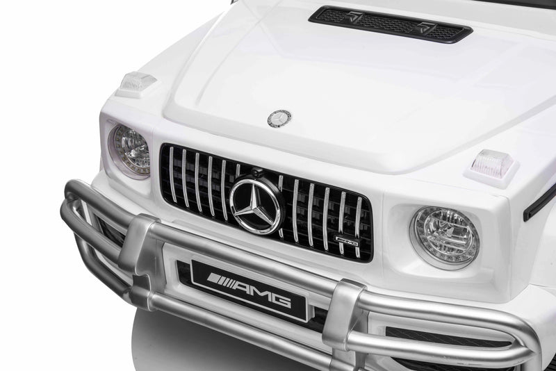 12V 7Ah Battery Powered Mercedes Benz AMG G63 Licensed Electric Ride On Toy Car Bluetooth, FM, MP3 ( For 3-8 Years Old)