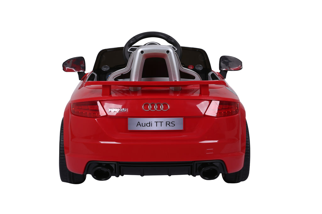 AUDI TT RS Lisenced Battery Powered Kids Electric Ride On Toy Car (Model: JE1198) RED