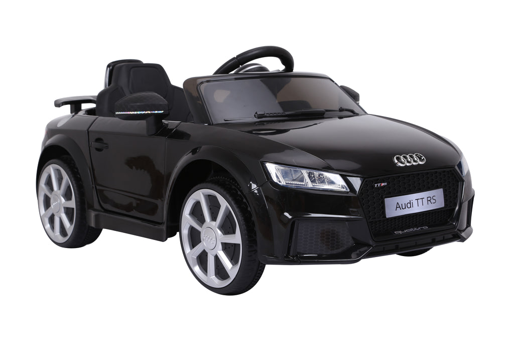 AUDI TT RS Lisenced Battery Powered Kids Electric Ride On Toy Car (Model: JE1198) BLACK